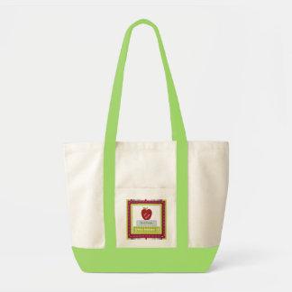 Personalisierte die Taschen-Tasche des Lehrers Tragetasche