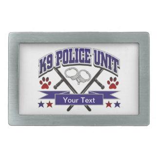 Personalisierte Einheit der Polizei-K9 Rechteckige Gürtelschnallen