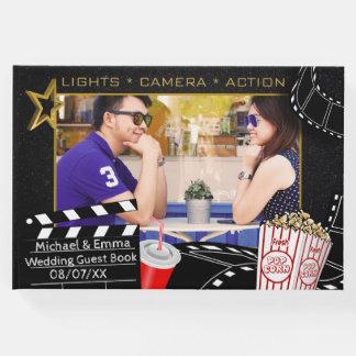 Personalisierte Filmstar-Hochzeit Gästebuch