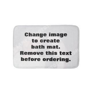 Personalisierte Fotobadmatte. Machen Sie Ihre Badematte