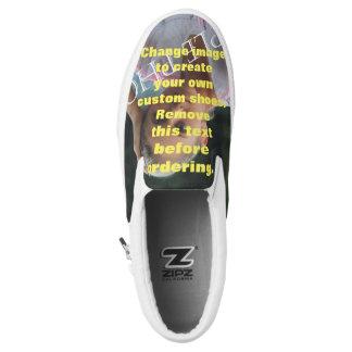 Personalisierte Fotoschuhe. Schaffen Sie Ihre Slip-On Sneaker