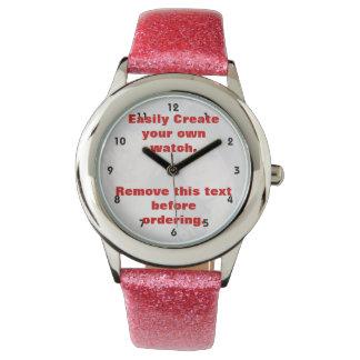 Personalisierte Fotouhr. Machen Sie Ihre Selbst! Uhr