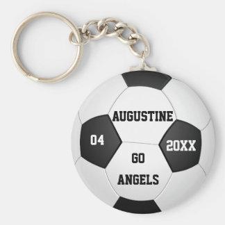 Personalisierte Fußball-Geschenke für Jungen u. Schlüsselanhänger