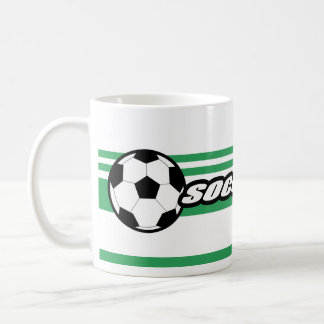 Personalisierte Fußball-Kaffee-Tassen Tasse