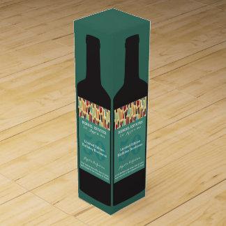 Personalisierte Geburtstags-Wein-Geschenkboxen Wein-Geschenkverpackung