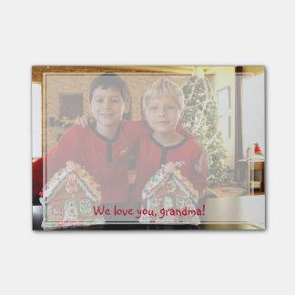 Personalisierte Geschenke für Großmutter Post-it Klebezettel