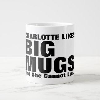 Personalisierte Gleich-große Tassen und ich können Jumbo-Tasse