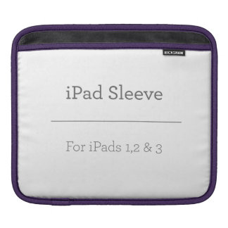Personalisierte iPad Hülse iPad Sleeves