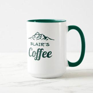 Personalisierte Kaffee-Tasse mit Bergen Tasse