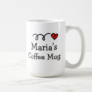 Personalisierte Kaffee-Tasse mit individuellem Tasse