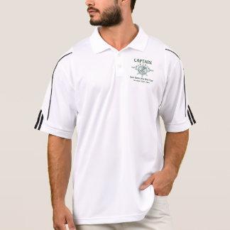 Personalisierte Kapitän-Crew Kapitän-erster Poloshirt