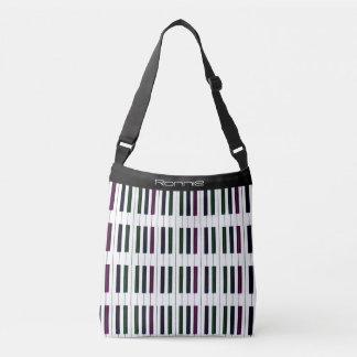 Personalisierte Klavier-Tasche und dunkle Tragetaschen Mit Langen Trägern