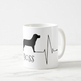 Personalisierte Labrador-Liebe mein Kaffeetasse