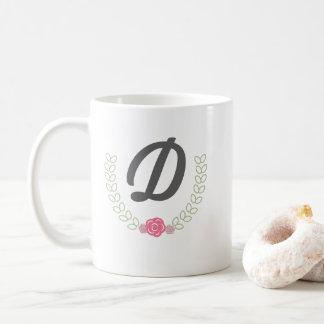 Personalisierte Lorbeer Wreath-Tasse Kaffeetasse