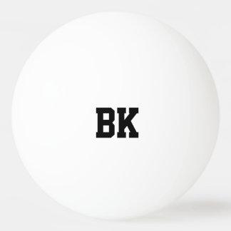 Personalisierte mit Monogramm Anfangsping pong Tischtennis Ball
