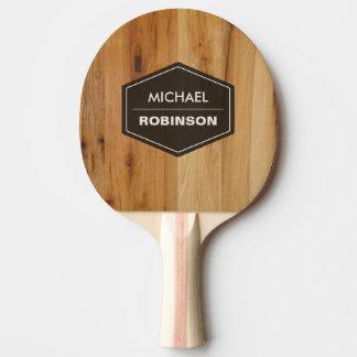 Personalisierte moderne hölzerne tischtennis schläger