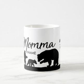 Personalisierte Momma Bärnschale Kaffeetasse