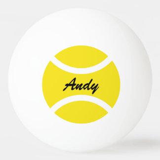 Personalisierte Namensping pong Tischtennisbälle Ping-Pong Ball