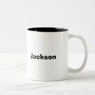 Personalisierte NamensTassen-kundenspezifische Zweifarbige Tasse
