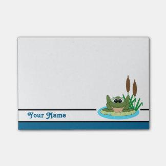Personalisierte niedliche Frosch Posten-it® Post-it Haftnotiz