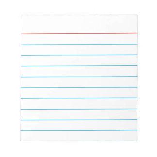 Personalisierte Notiz-Auflage mit Geschäftszweigen Memo Notiz Pads