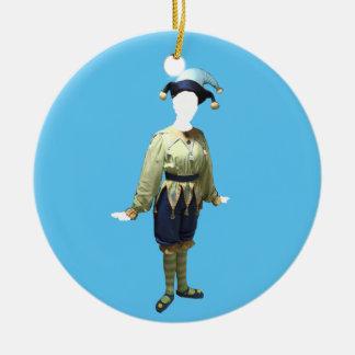 Personalisierte Nussknacker Polichinelle Keramik Ornament