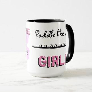 Personalisierte Paddel-Tasse Tasse