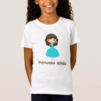 Personalisierte Prinzessin - aquamarin T-Shirt