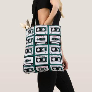Personalisierte Retro Kasette Tasche