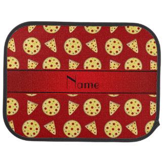 Personalisierte rote Namenspizzas Automatte