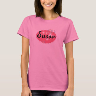 Personalisierte Susan T-Shirt