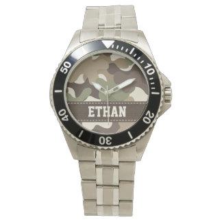 Personalisierte Tarnung Uhren