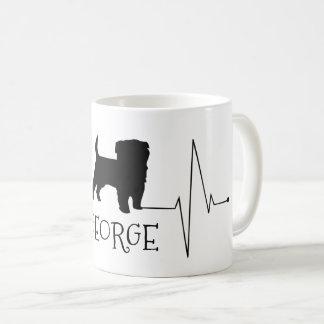 Personalisierte Terrier-Liebe mein Kaffeetasse