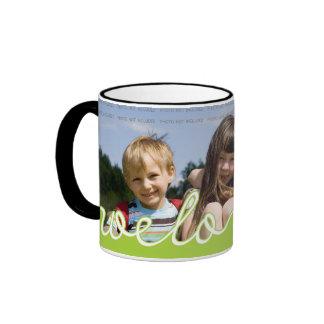 Personalisierte Vatertags-Foto-Tassen | wir Ringer Tasse