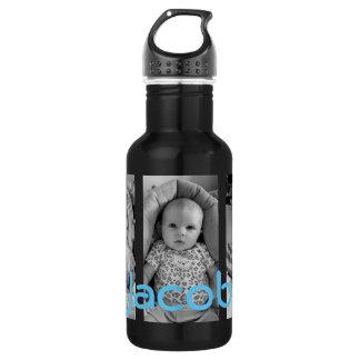 Personalisierte Wasser-Flasche, addieren Ihre Edelstahlflasche
