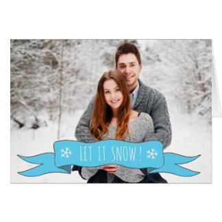 Personalisierte Weihnachtskarte - addieren Sie Ihr Karte