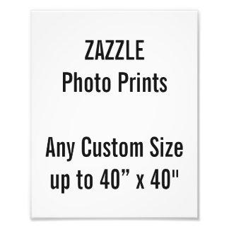 Personalisierter 200x250mm Foto-Druck oder Photodrucke