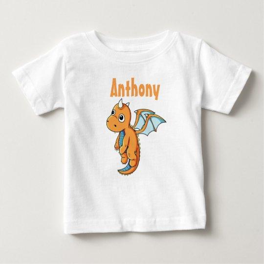 Personalisierter Baby-Geldstrafe-Jersey-T - Baby T-shirt