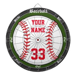 Personalisierter Baseball Dartscheibe