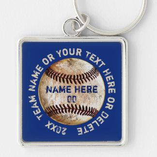 Personalisierter Baseball Keychains Ihr Text, Schlüsselanhänger