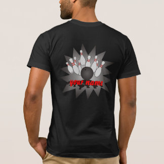 Personalisierter Bowling T-Shirt