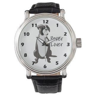 Personalisierter Boxer-Entwurf Armbanduhr