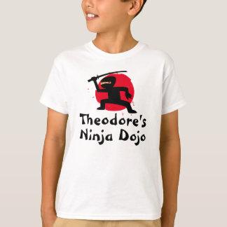 Personalisierter das Ninja des Kindes T - Shirt