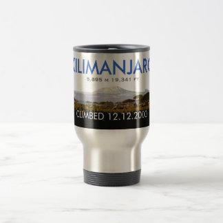 Personalisierter der Kilimandscharo-Aufstieg Reisebecher