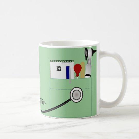 Personalisierter Doktor Mug Kaffeetasse