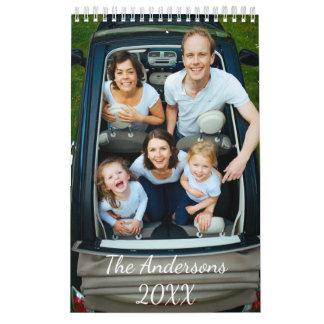 Personalisierter Foto-Kalender Kalender