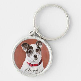 Personalisierter Jack-Russell-Terrier Keychain Schlüsselanhänger