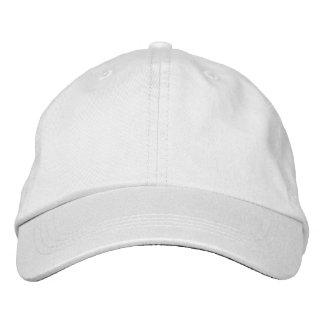 Personalisierter justierbarer Hut Baseballcap