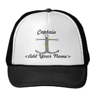 Personalisierter Kapitän Hat Retromützen