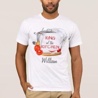 Personalisierter Kochs-T - Shirt König der Küche